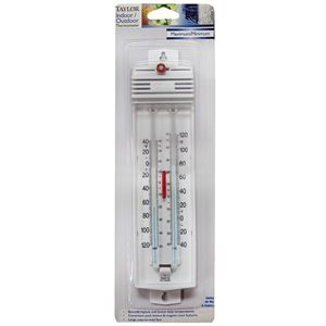 Taylor® Thermometer, Maximum/Minimum