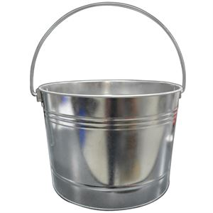 Gallon Scrub Tub Hot Dipped Galvanized