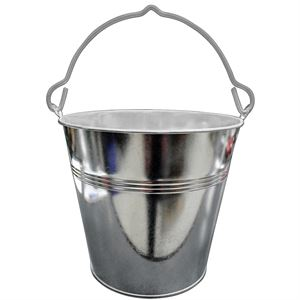 Quart Standard Pail Hot Dipped Galvanized