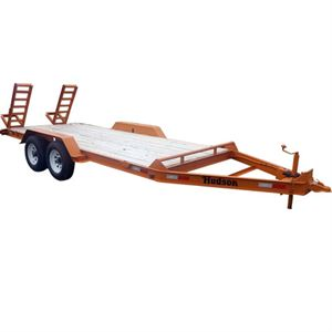 Double Axle Flatbed Trailer, 4 1/2 Ton, 16 Ft.