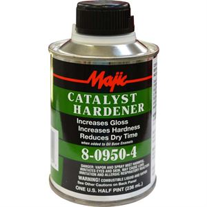 Catalyst Hardner, Majic Paint, 8 Ounces