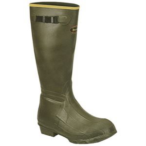 Burly Insulated Rubber Boot Chevron Size
