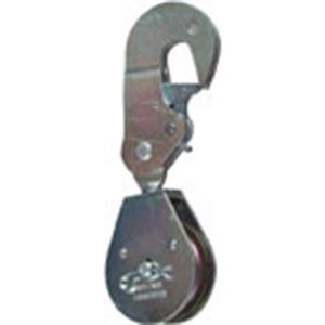 Single Pulley With Swivel Hook And Latch