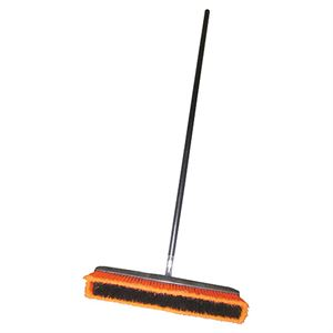 Push Broom Wide All Purpose With Handle And Stand