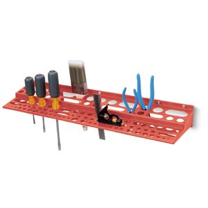 Red Tool Rack