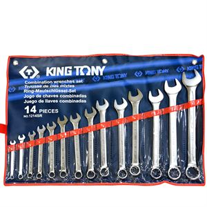 Pcs Sae Comb Wrench Set