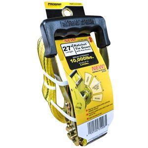 Ratchet Strap, 2 In. x 27 Ft., 3,335 Lbs. Capacity