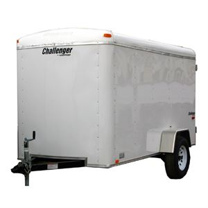 Homestead Challenger 6 Ft x 12 Ft Enclosed Trailer, Ramp