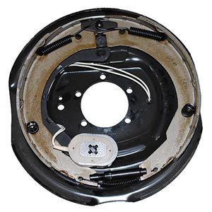 12 in Electric Brake Assembly, Left Hand, 7000 lb. Capacity