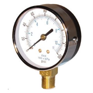 Air Gauge PSI Male Fitting