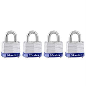 Laminated Pad Locks Keyed Alike Pk
