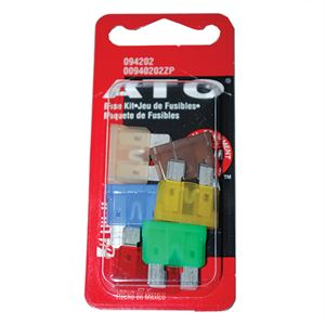 Blade Fuse Kit, ATO Fuses, 6 Pack