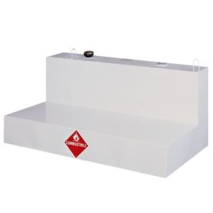 Low Profile L-Shaped Liquid Transfer Tank, 85 Gallon