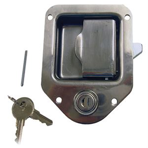 Paddle Latch with Lock and Key