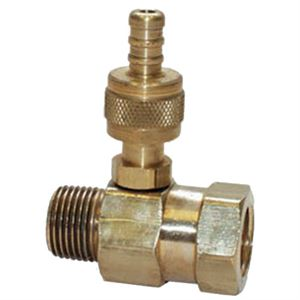 Brass Adjustable Soap Injector