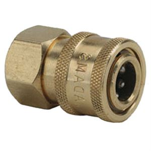 Female Qd Socket Brass Npt