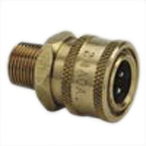 Male Qd Socket Brass Npt