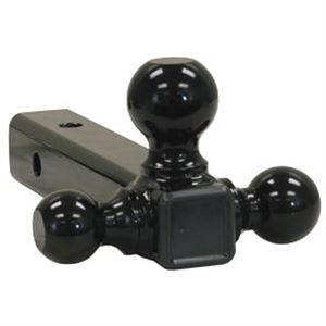 Tri-Ball Mount-Black Steel Balls