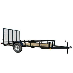 6 Ft. x 12 Ft. Utility Trailer, Single Axle, 1860 Lb. Payload