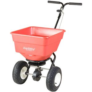 EarthWay Push Broadcast Spreader, 100 Lb. Capacity