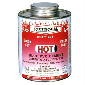Blue Medium Bodied Pvc Cement Oz