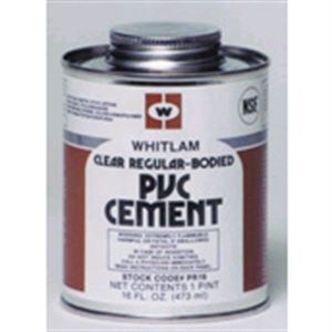 Clear Regular Bodied Pvc Cement Zo