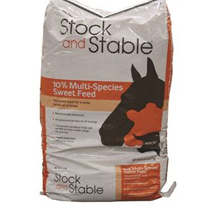 Stock and Stable Horse and Livestock Feed 10, 50 Lb. Bag