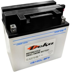 Deka Lawn Mower and Motorcycle Battery