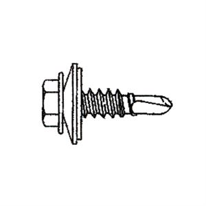 Self Drilling Screw With Washer Bulk