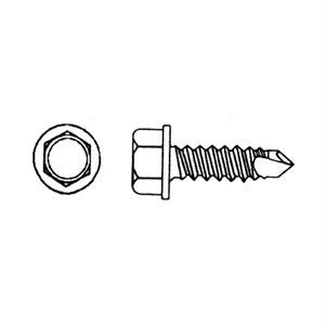 Self Drilling Screw With Washer Boxed