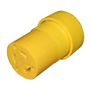 Connector Nylon Kwiklok Yellow