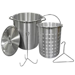 28 Quart Aluminum Fryer Pot