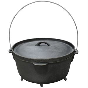 Carolina Cooker® Cast Iron Dutch Oven, 6 Qt.
