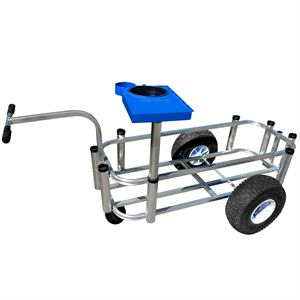 Fishing Cart, Large,16 In. W x 44 In. L x 9 In. D