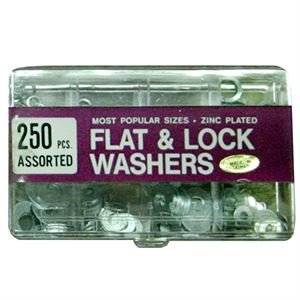 Piece Flat And Lock Washer Assortment