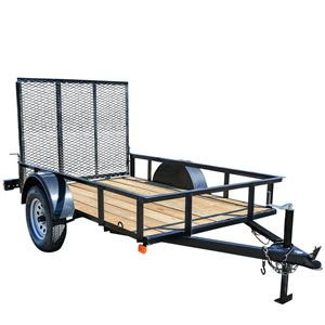 5 Ft. x 8 Ft. Utility Trailer, Single Axle, 2,900 Lb. Payload