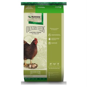 Country Feeds Layer Hen 16 percent Pellet Feed, 50 Lb.