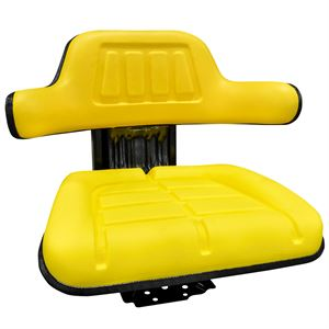 Universal Tractor Seat Yellow With Suspension