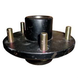 Trailer Hub Assembly, 3,500 lb. Capacity, 5 on 5-1/2 In.