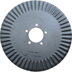 Fluted 16 In. x 3.5 mm, 3-5/16 In. RCH Coulter Blade