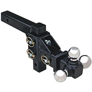 Adjustable Tri-Ball Hitch Mount
