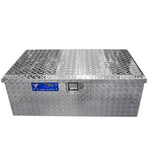 Aluminum Single Lid Footlocker