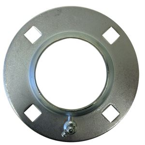 Bearing Flange Pressed Steel Fits Jd Grease Fitting
