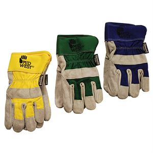 Th Suede Cowhide Leather Palm Thinsulate Gloves Small