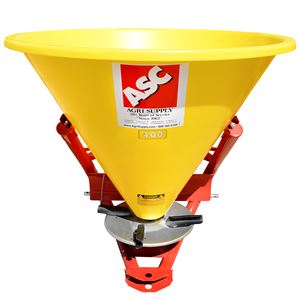 Poly Fertilizer Spreader 3-Point Hitch