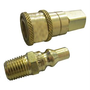 Propane or Natural Gas Quick Connector, 1/4 In.
