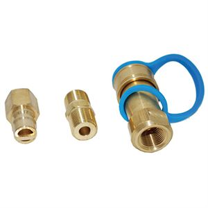 Propane or Natural Gas Quick Connector, 3/8 In.