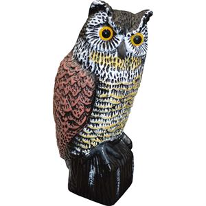Hand Painted Great Horned Owl