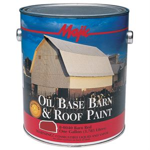 Barn & Roof Paint Red Gallon