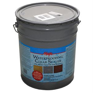 Waterproofing Sealer Clear Gallon